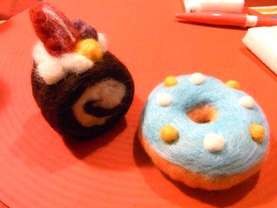 羊毛フェルト教室 東京 ドーナツ.jpg