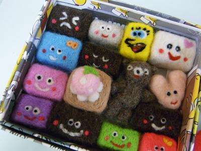 羊毛フェルト 教室 チョコレート.JPG