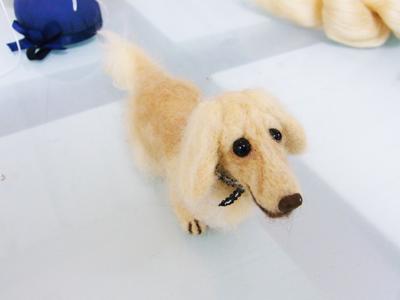 羊毛フェルト教室 犬.JPG